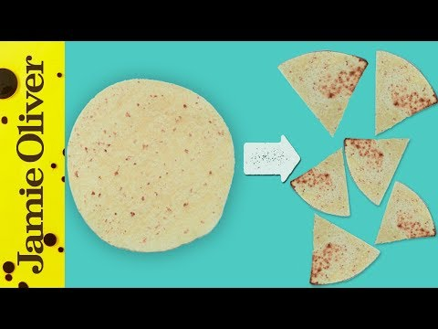How To Make Homemade Tortilla Chips | Katie Pix