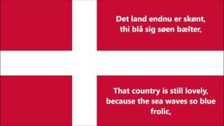 Anthem of Denmark - Danmarks Nationalsang (DK/EN lyrics)