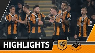The Tigers 2 Swansea City 0  Highlights  070117