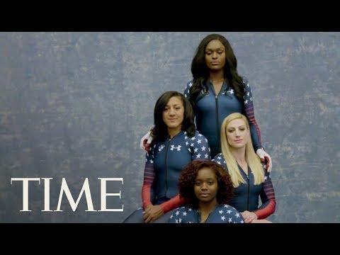 Olympic Bobsledders Aja Evans, Elana Meyers Taylor On Diversity   Meet Team USA   TIME