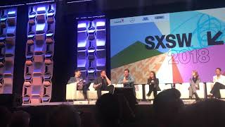 Elon Musk Crashes Westworld Panel at SXSW 2018