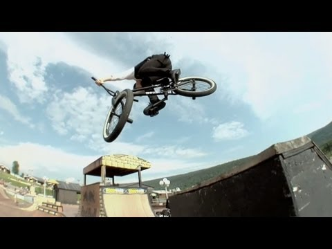 Cult BMX Woodward Session with Chase Hawk