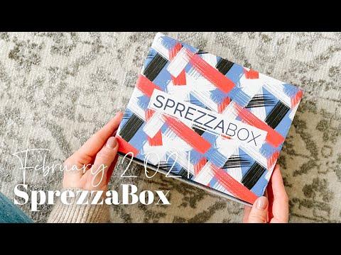 SprezzaBox Unboxing February 2021