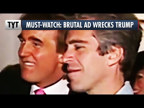 BRUTAL Ad Calls Out Trump's Connections to Pedophiles