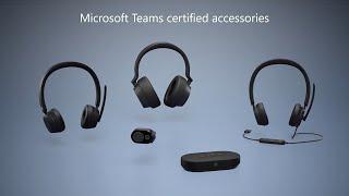 Microsoft Teams Zubehörtour   Moderne Headsets, Lautsprecher, Webcam & Surface Headphones 2+