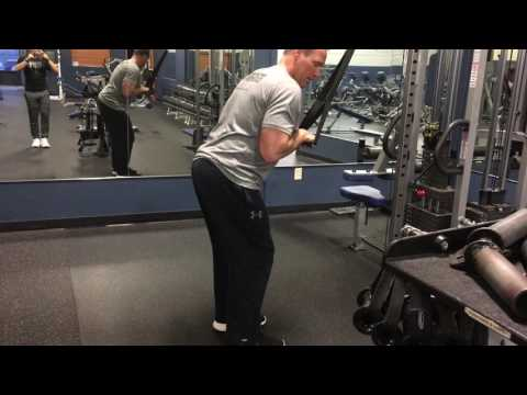 exercise- tricep- forward leaning hp cb triceps pushdown w strap