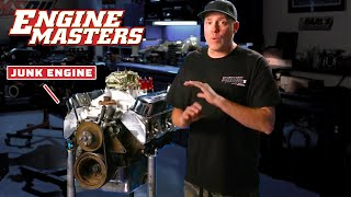Junk Engine Rebuilds! | Engine Masters | MotorTrend by Motor Trend