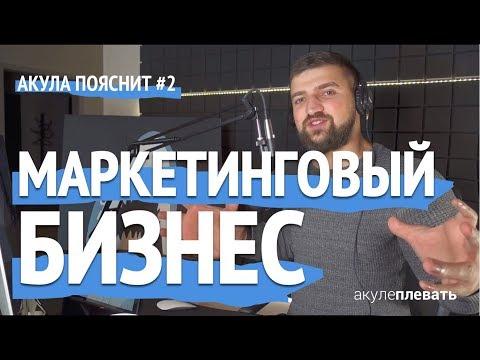 БИЗНЕС ИДЕЯ Маркетинговое Агентство / Акула Пояснит