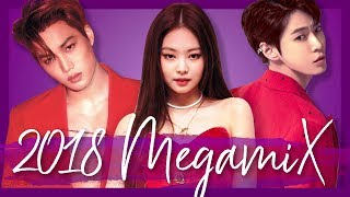 A YEAR IN K POP | 2018 MEGAMIX (50+ Songs!)
