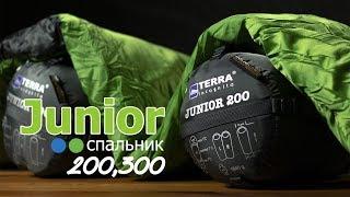 Terra Incognita Junior 200 / left, зеленый/серый - відео 1