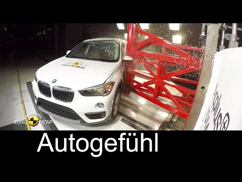 All-new BMW X1 SUV crash test - Autogefühl