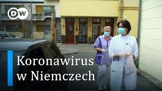 Koronawirus. Niemiecka doktor leczy na ulicy
