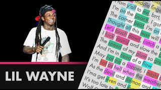 Lil Wayne on Hot Wind Blows - Lyrics, Rhymes Highlighted (257)