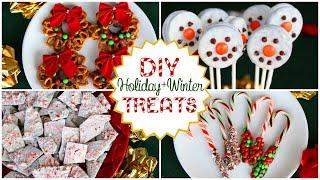 DIY Holiday/Winter Treats! Quick, Easy, And Delicious