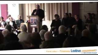 preview picture of video 'Recette du redressement financier : Lodève en Mouvement avec Pierre Leduc'
