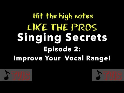 Here is a quick video on some tips to hit the high notes!