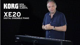 Korg Piano arrangeur XE20 88 notes - Video