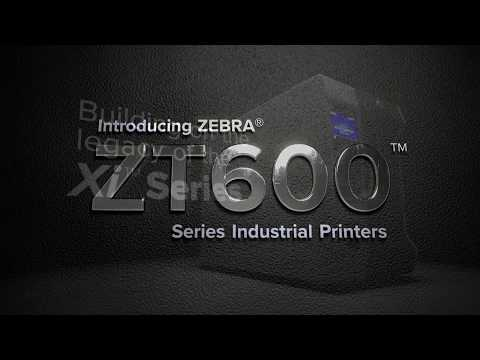 Zebra Industrial Label Printer 6-inch (168mm) - ZT620 Series video thumbnail
