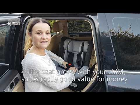 Mountain Buggy Safe Rotate car seat review | MadeForMums 2018