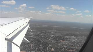 South African Airways Takeoff Livingstone, Zambia w/ Vic Falls!