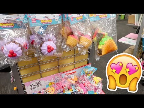 So Many Squishies At The Mall Shopping Vlog