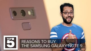 Samsung Galaxy Note 9: Why you should buy it (CNET Top 5)