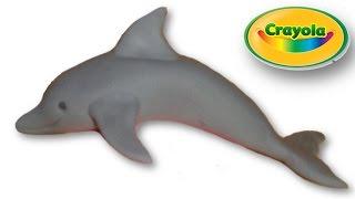 דולפין מפלסטלינה