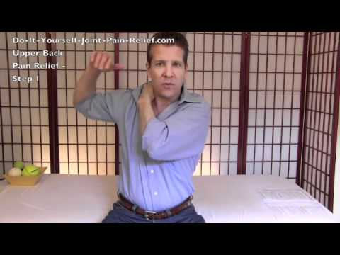 Video Upper Back Pain Relief - Step 1