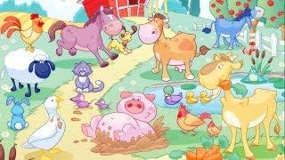 The farm animals / Os animais da quinta