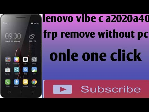 Lenovo A2020a40 FRP Remove 100% Tested 2018 easy - Online Media