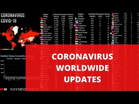 COVID-19 Cases Live Report!