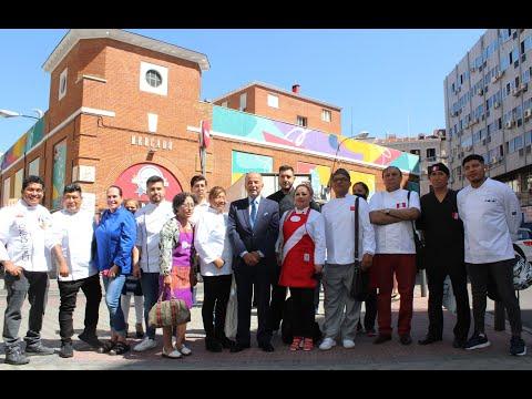 Sabores del Perú Bicentenario - Visita al Mercado de los Mos