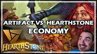 ARTIFACT VS. HEARTHSTONE ECONOMY