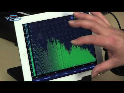 Sweetwater iOS Update - Vol. 31, Analyzer App and i436 Measurement Microphone