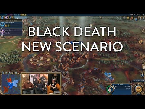 Civilization VI: Gathering Storm - Black Death Scenario (Pre-Launch Livestream VOD)