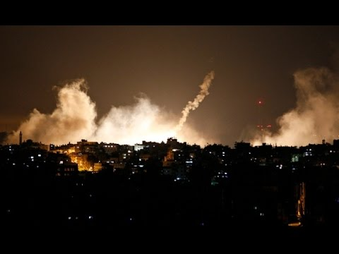 Strange Sounds catch in Gaza sky,  horn trumpet recorded . this doomsday sign ?