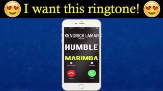 Humble iPhone Ringtone - Kendrick Lamar (Marimba Remix Ringtone)