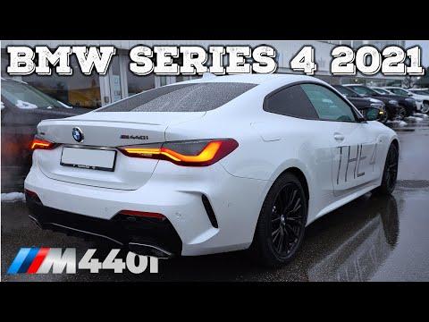 New BMW 4 Series Coupe M440i 2021 Review Interior Exterior