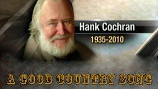 HANK COCHRAN - A GOOD Country Song (1963)
