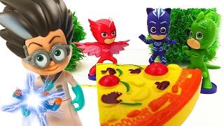 Герои в масках против злодея Ромео: спасти фургон с пиццей 🍕 Видео для детей.