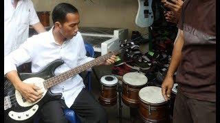 [22] Presiden Jokowi Feat Boomerang [ Pelangi ] Rock & RoLL   Fokus Baju Putih Bass