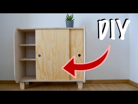 Schrank mit einfachen Schiebetüren selber bauen | MrHandwerk #2