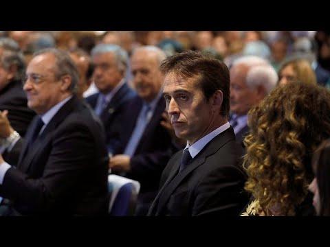 Τα δάκρυα του Λοπετέγκι κατά την παρουσίασή του από την Ρεάλ …