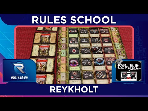 How to Play Reykholt (Rules School) with the Game Boy Geek