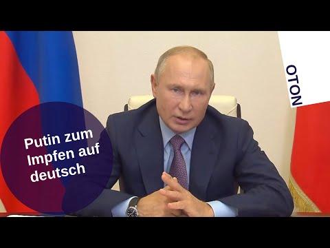 Putin zum Impfen auf deutsch [Video]