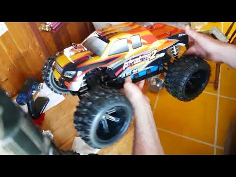 ZD RACING PIRATES 2 MONSTER TRUCK UNBOXING