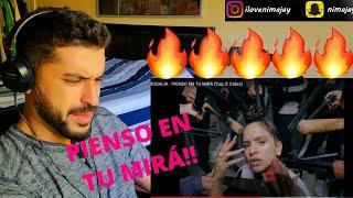 ROSALÍA - PIENSO EN TU MIRÁ (Cap.3: Celos) - REACTION VIDEO!!!