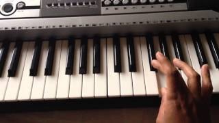 Tera Yakeen Kyun Maine Kiya Nahi Piano Tutorial