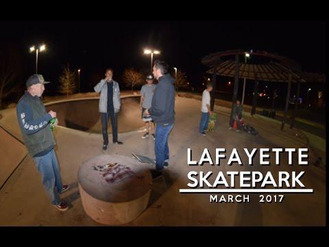 Lafayette Skatepark | March 2017