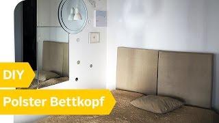 DIY Anleitung U2013 Polster Bettkopf Selber Machen | Roombeez U2013 Powered By OTTO